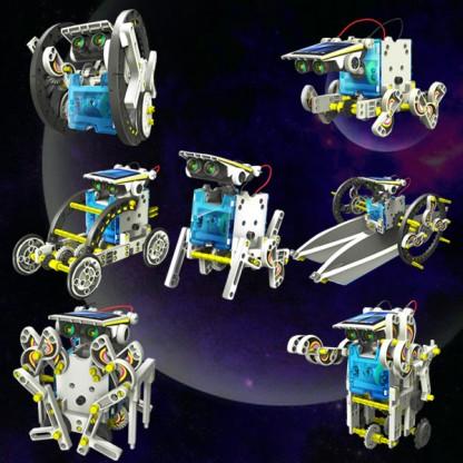 14 in 1 Educational Solar Robot