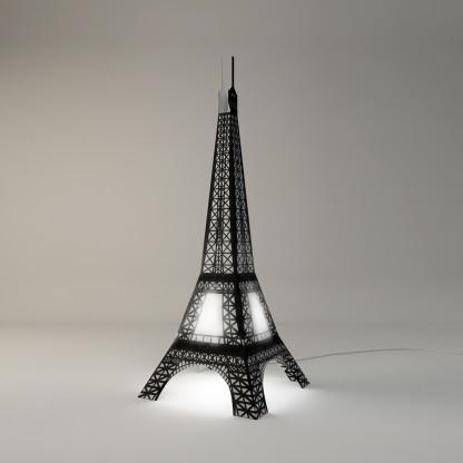 lamps lights floor lamps eiffel tower standing floor lamp. Black Bedroom Furniture Sets. Home Design Ideas