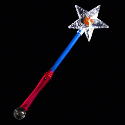 Wholesale flashing star wands for Led wands wholesale