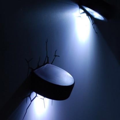 3d Wall Light Decor : 3D FX Sports Ball Wall Decoration Light