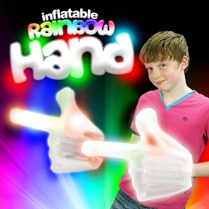 Flashing Inflatable Hand