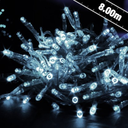 Image of 100 White LED Twinkling Connectables