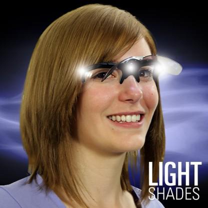 White LED Flip Shades