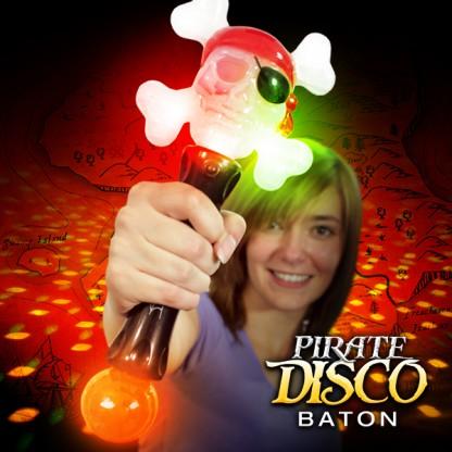 Flashing Pirate Baton