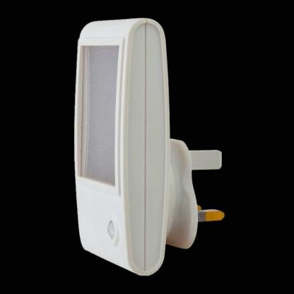 White Sparkle Led Sensor Night Light Plug In