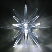 10cm Timer Star White