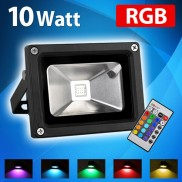 10w RGB LED IP65 Floodlight  (16682)