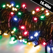 160 LED Battery Operated Timer Lights