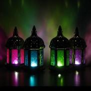 17cm Moroccan Lantern