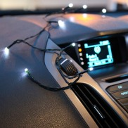 20 White Fairy Lights with 12v Charger