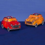 Retro Mini Car Nightlight 22cm