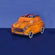 Retro Mini Car Lamp 22cm