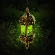 24cm Hanging Moroccan Lantern