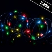 25 LED Wire Lights with Timer