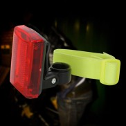 3 LED Red Rear Bicycle Light