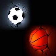 3D FX Sports Ball Decoration Light