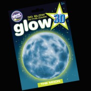 3d Glow In The Dark Moon