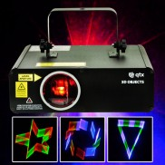 3D Objects Laser Projector