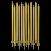 5 Inch Tapered Candles (12 Pack)