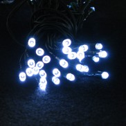 50 LED White Solar Lights