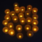 5cm LED Candles (24 Pack)