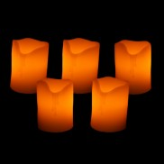 5cm LED Wax Candle (24 pack)