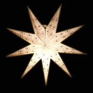 Deluxe 9 Point Beaded Star Lampshade (46)