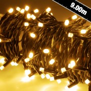90 Heavy Duty LED Lights Gold/Amber (155.413)