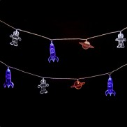 Acrylic Spaceman Stringlights