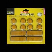 Adhesive Reflectors (12 Pack)