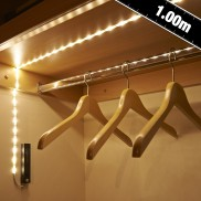 Auraglow Motion Activated 100cm LED Strip Light