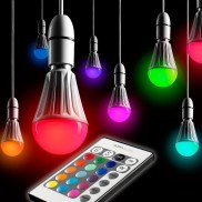 Auraglow R/C Colour Changing Bulb