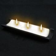 Bamboo 3 Wick Candle - Himalayan Spice