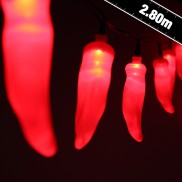 20 LED Battery Operated Chilli Lights