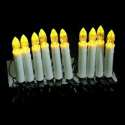 Battery Operated Clip-on Candles (10 Pack)