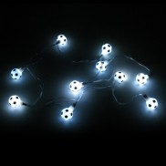 Battery Operated Football String Lights
