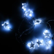 Battery Operated 8 LED Star Lights