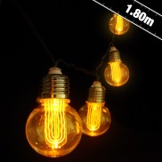 Battery Operated Nostalgia Bulb String Lights