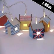 Beach Hut String Lights