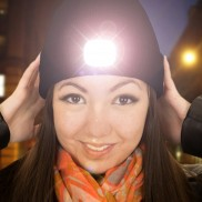 Beamie LED Beanie Hat Black