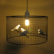 Birdcage Pendant Light (18026)