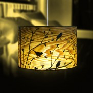 Bird Shadow Lampshade