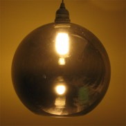 Black Nickel Globe Pendant (17964)
