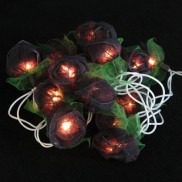 Black Rose String Lights