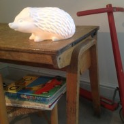 Bone China Hedgehog Lamp
