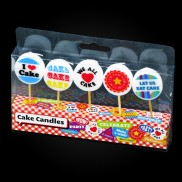 Cake Central Cute Candles (5 Pack)