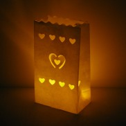 Candle Bags - Heart (3 Pack)