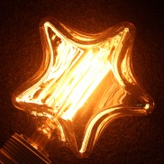 Carnival Star Light Bulb