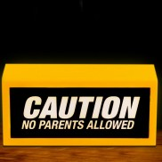 No Parents Allowed Lamp