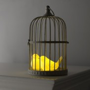Ceramic Bird Night Light by Sarah Jane